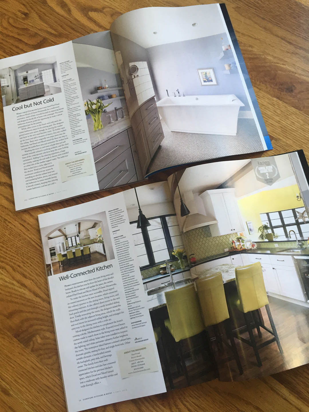 Classic Homeworks Featured in Signature Kitchens & Baths ...